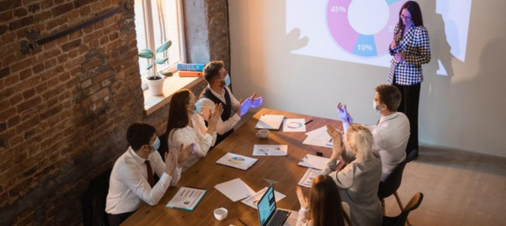 presentation meeting room